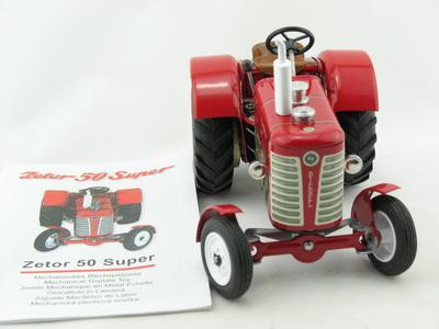 Traktor Zetor 50 super von KOVAP 0385  Traktor Neu und OVP Blechspielzeug