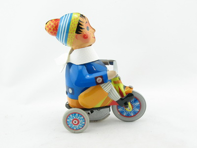 Junge mit Dreirad von KOVAP 0620 Blechspielzeug