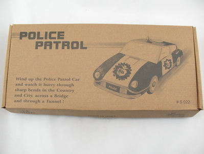 Autobahn Polizei Blechspielzeug Police Patrol Bahn  5271022