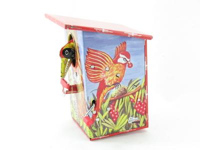 Blechspielzeug Woodpecker   6418145 Vogelspardose Specht