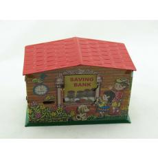 Blechspielzeug - Spardose Savingbank, Kinder