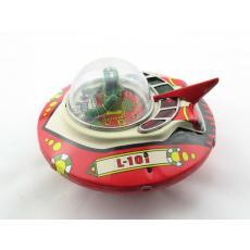 Blechspielzeug - Roboter Commander Ship, Raumschiff mit Commander