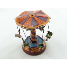 Blechspielzeug - Dachkarussell klein, verschiedene Designs