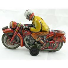 Blechspielzeug - Motorrad JOSEF (Tipp & Co Nachbau) Made in Germany