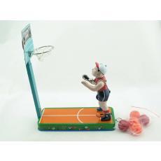 Blechspielzeug - Basketballspieler