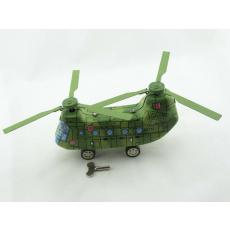 Blechspielzeug - Helikopter Chinoock mit zwei Rotoren