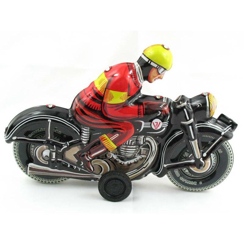 Blechspielzeug Motorrad schwarz Deutschland 2450588