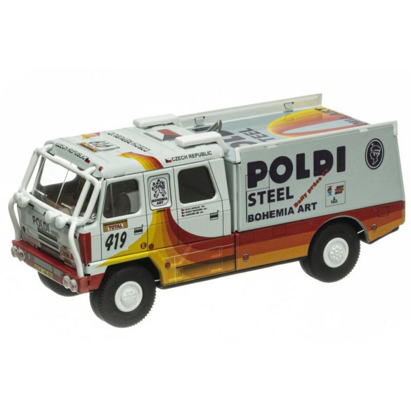 Tatra 815 LKW Rallye Dakar 1996 'Poldi' von KOVAP, Neuheit 2021 – Blechspielzeug
