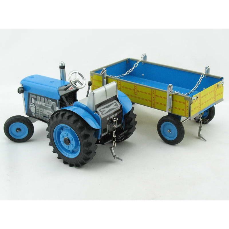 traktor zetor mit anh nger blau neuheit 2015 von kovap. Black Bedroom Furniture Sets. Home Design Ideas