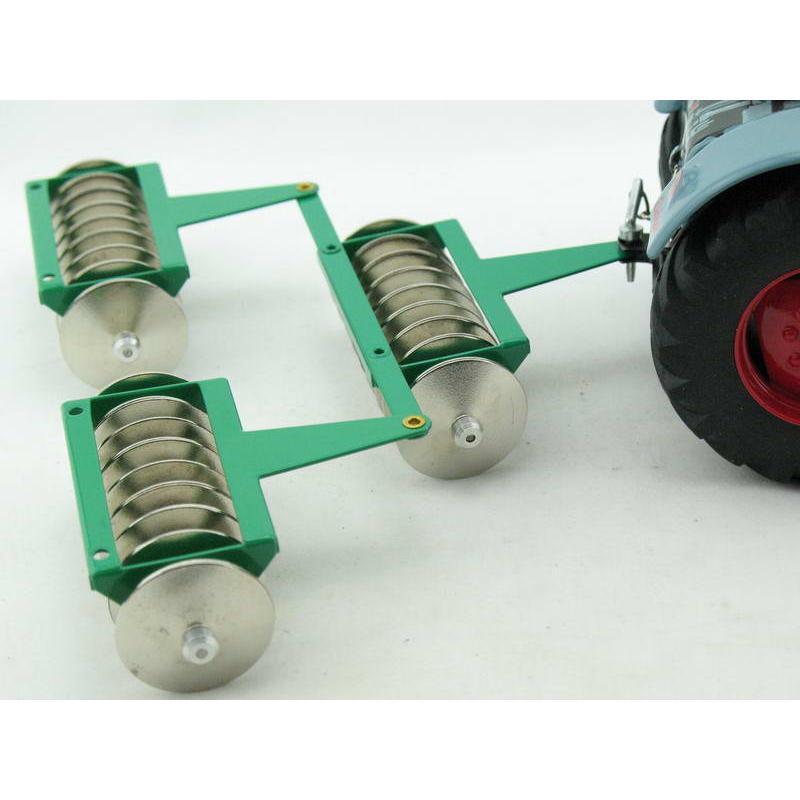 Traktor Zubehör Scheibenegge von KOVAP - Blechspielzeug