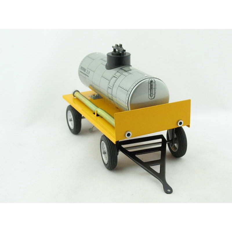 von KOVAP 0427 Traktor Anhänger mit Wasserfass Blechspielzeug