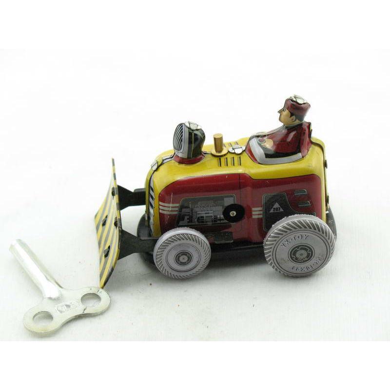 Blechspielzeug - Bulldozer aus Blech