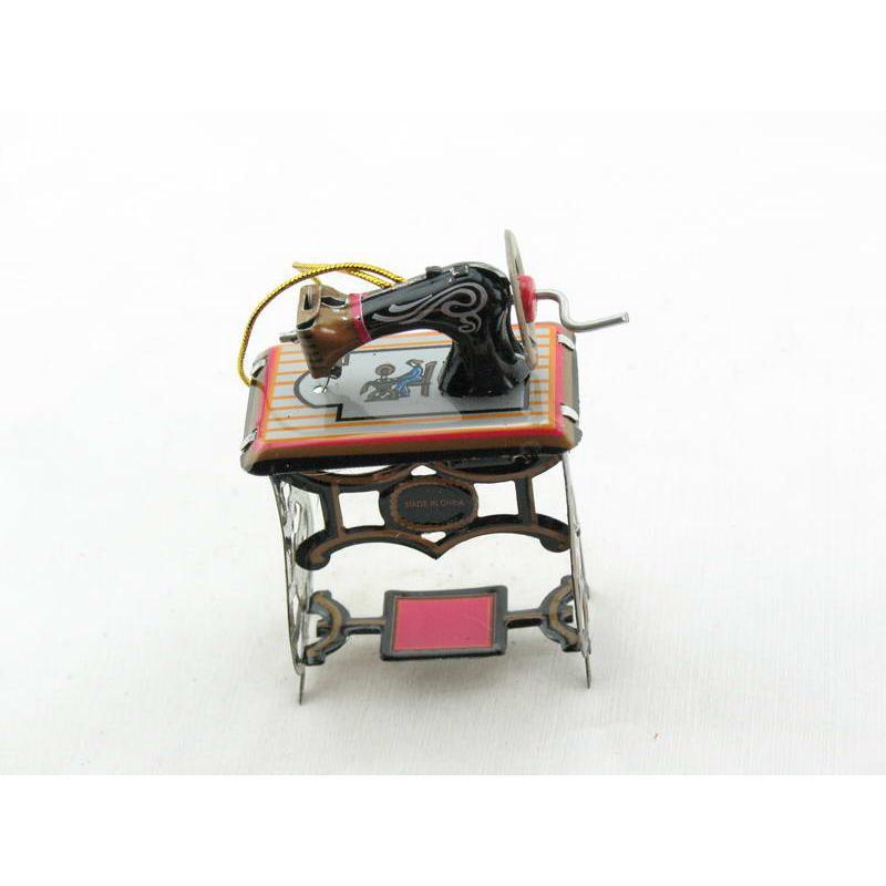 Blechspielzeug - Deko-Nähmaschine
