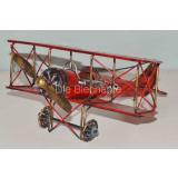 Blechmodell - Doppeldecker Fokker 1917