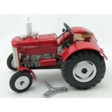 Traktor Zetor 50 super von KOVAP rot - Blechspielzeug